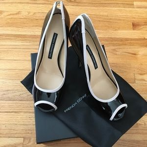 French Connection Peep Toe High Heels